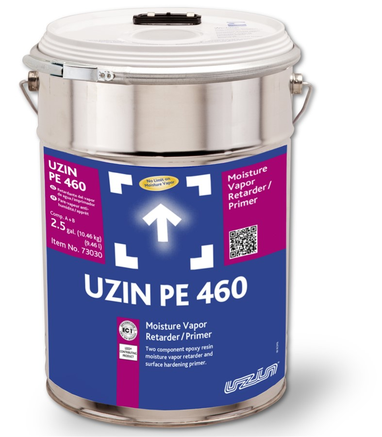 Professional Flooring Supply Uzin Pe 460 Moisture Vapor